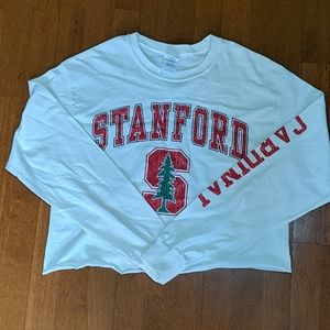 Cropped Stanford shirt